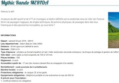 Mythic Rando MERIDA 2016
