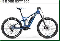 E ONE SIXTY 800